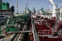 First Transshipment of Oil