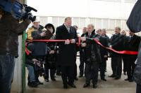 Official inauguration of rapeseed processing line