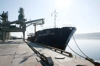 First Transshipment of Crops at the Terminal of ZAO Sodrugestvo-Soy